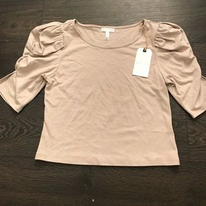 BNWT Beige Blouse from Nordstrom Size M
